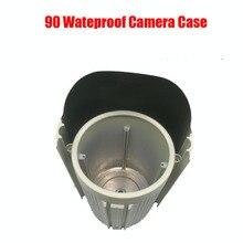 DIY водонепроницаемый IR Bullet чехол для камеры размер 90 алюминиевый сплав IP66 открытый корпус для камеры корпус