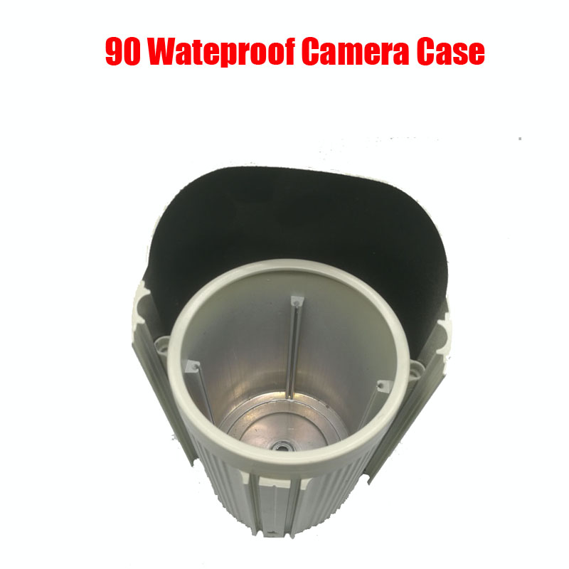 DIY Waterproof IR Bullet Camera Case Size 90 Aluminum Alloy IP66 Outdoor Camera Casing Housing diy cctv metal camera housing case indoor outdoor ip66 cctv camera ir waterproof camera metal housing cover