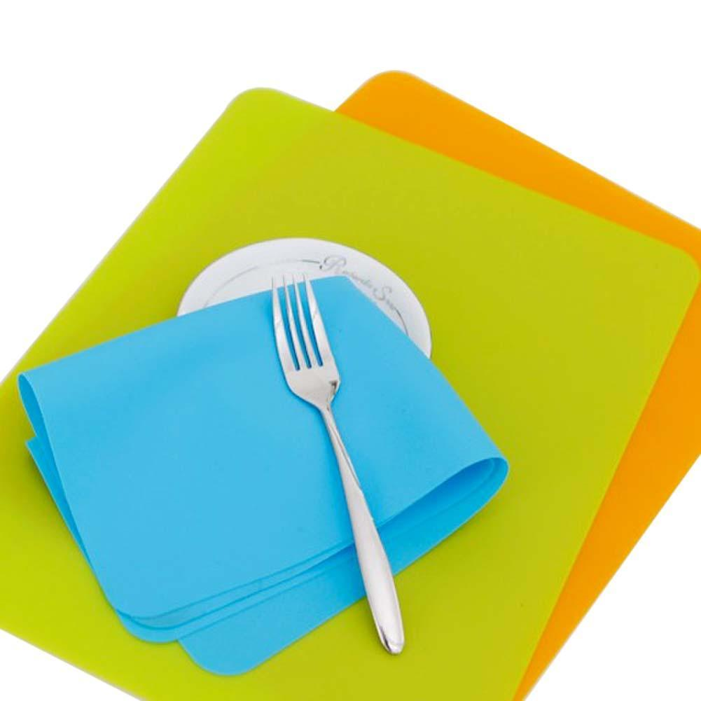 Non Stick Silicone Baking Mat Pad, 30*40cm Rolling Pastry Bread ...