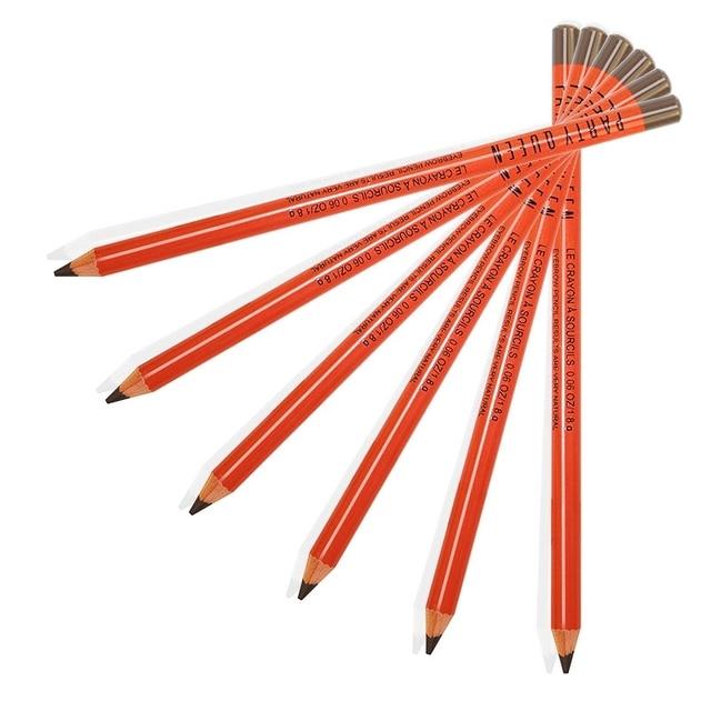36 piezas de fiesta reina nuevo lápiz de cejas de larga duración maquillaje profesional ojo ceja tatuaje bolígrafo impermeable ceja Cosme