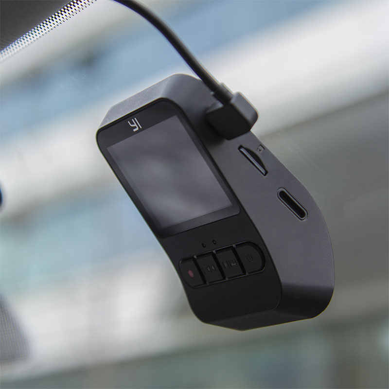 YI мини-камера 1080p HD Запись видео 140 широкоугольный WiFi 2,0 ''ЖК-экран Встроенная Большая диафрагма международная версия