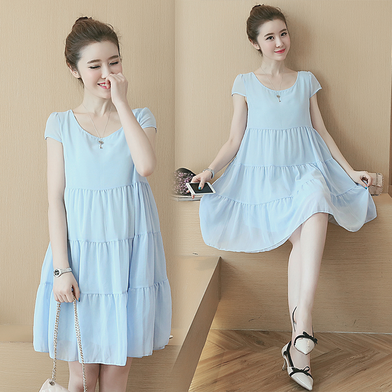 Long Maternity Dress Summer Clothes For Pregnant Women Maternity ...