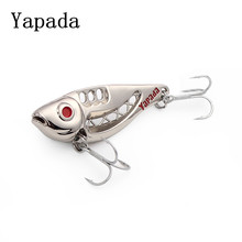 yapada metal vib 10g 15g 20g 25g spoon bait fishing isca artificial hard bait angeln wobbler fish bass carp fishing tackles