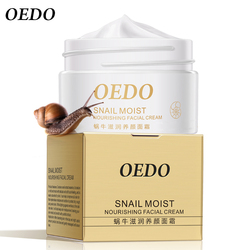 OEDO Snail Moist Nourishing Facial Cream Skin Care Anti Wrinkle Anti Aging Cream Skin Care Wrinkle Firming