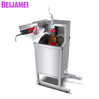 BEIJAMEI Factory Coconut Top Cutting Machine Commercial Coconut Opener Opening For Sale