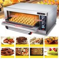 Новый цифровой Контроль температуры печь для выпечки LC ACL 10 коммерческих печь торт хлеба пиццы Большая Электрическая Духовка 60L 220 В 3200 Вт