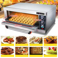 New Digital Temperature Control Baking Oven LC ACL 10 Commercial Oven Cake Bread Pizza Oven Large Electric Oven 60L 220V 3200W