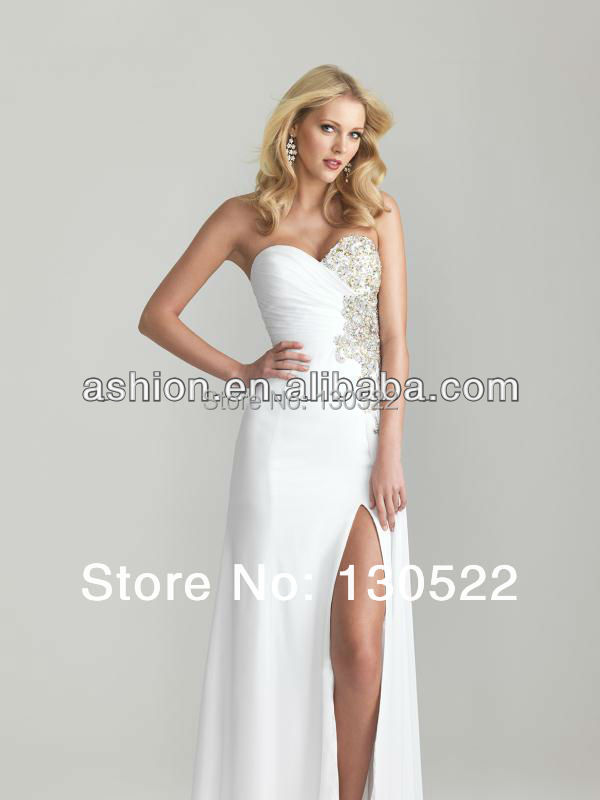 4207012e244 Free Shipping ED 1327 European style big boobs low cut evening gown of  chiffon silk gown evening dress cheap-in Evening Dresses from Weddings    Events on ...