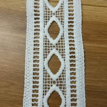 Water Soluble lace double-side Embroidered fabric Milksilk 5cm Width Sewing Cheapper quality wholesale 1000 Yards