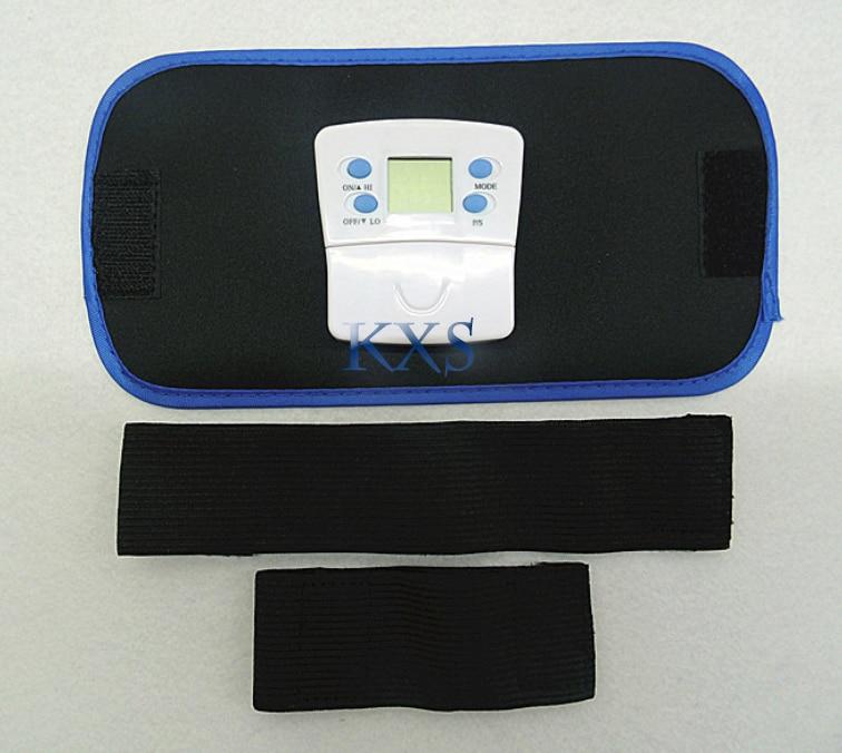 PVC wireless small oil massage waist band AB belt fat thin body electronic belt slimming massager KXS-09 electric beauty body slimming and lipoid fat massaging massager is powerful vibratory body and slimming machine