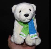 Cute Polar Bear Doll font b Plush b font Toys For Children Car Toy Jewelry Birthday