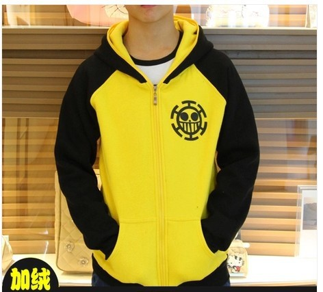 One Piece Trafalgar Law Cosplay Costume Ace Naruto Gin Tama Hoodie
