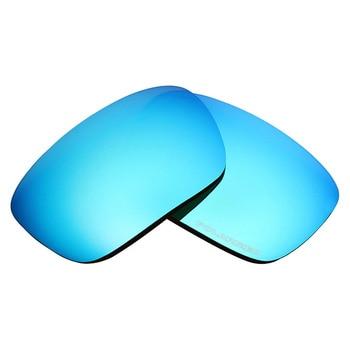 Mryok+ POLARIZED Resist SeaWater Replacement Lenses for Oakley Badman Sunglasses Ice Blue