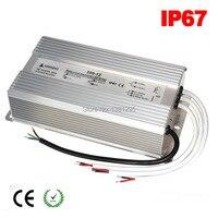 DC 12V 24V LED Driver 100W 120W 150W 200W 250W 300W Waterproof IP67 12 Volt Power supply LED transformer alimentation 5A 10A 15A