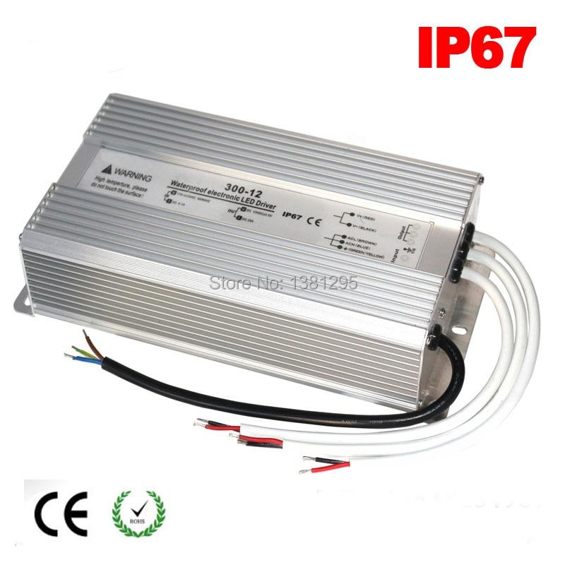 DC 12 V 24 V LED Conducteur 100 W 120 W 150 W 200 W 250 W 300 W Étanche IP67 12 Volts LED d'alimentation transformateur alimentation 5A 10A 15A