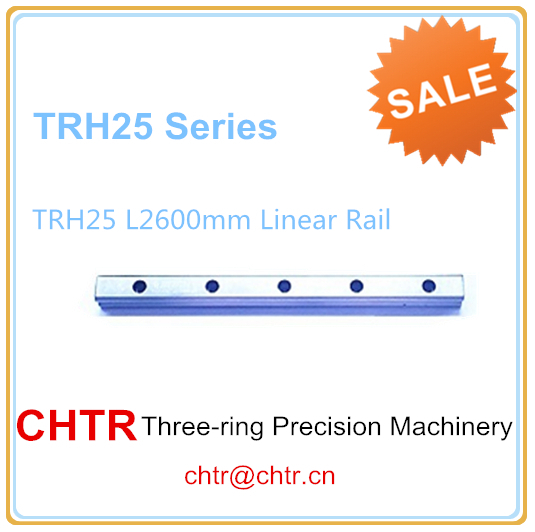 1pc TRH25 Length 2600mm Linear Guide Rail Linear Slide Track  Auto Slide Rail for sewing Machiner 1pc trh25 length 1500mm linear guide rail linear slide track auto slide rail for sewing machiner