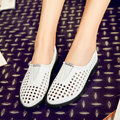 White Ladies Summer Shoes Square Low Heel PU leather Platform Woman Pumps Cut Outs Pointed Toe Ladies Wedding Shoe Size 34-40