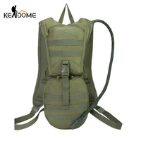 2.5L Water Bag Military Tactical Backpack Camouflage Rucksack Water Bladder Bag for Cycling Riding Outdoor Sport XA68D