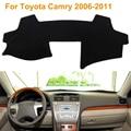 2016 Car Styling Sombra Protectora Dashboard Mat Cojín Pad Photophobism Alfombra Interior Para Toyota Camry 2006-2011