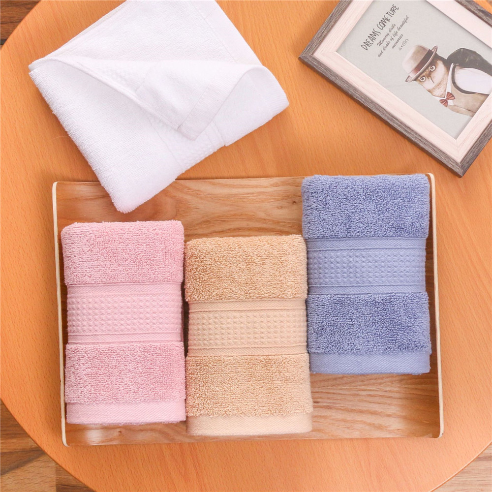 Brand New 5pcs Face Hand Towel High Quality Cotton