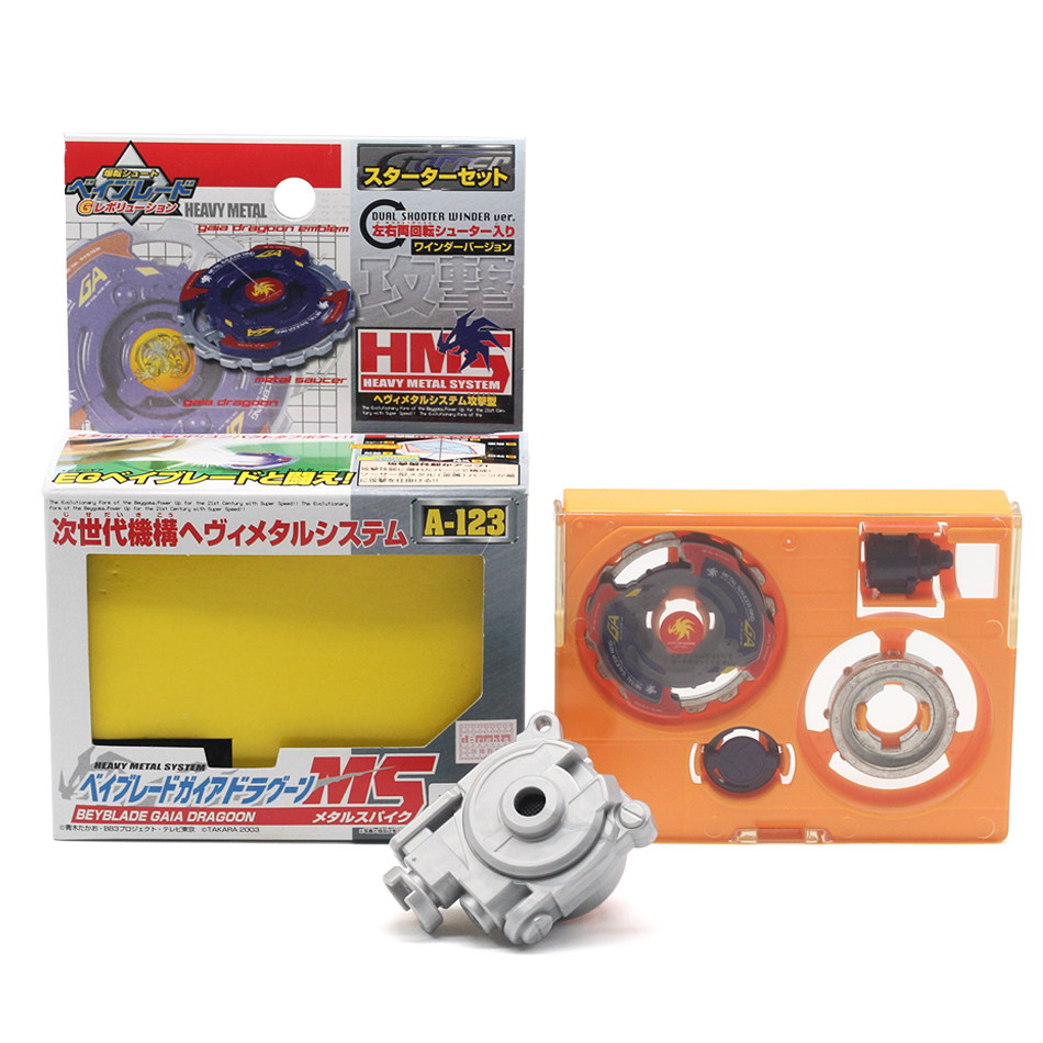 Takara Tomy <font><b>beyblade</b></font> Genuine A-123 First generation beybladeburst battle gyro assembly alloy <font><b>beyblade</b></font> toy forChild'sgift image