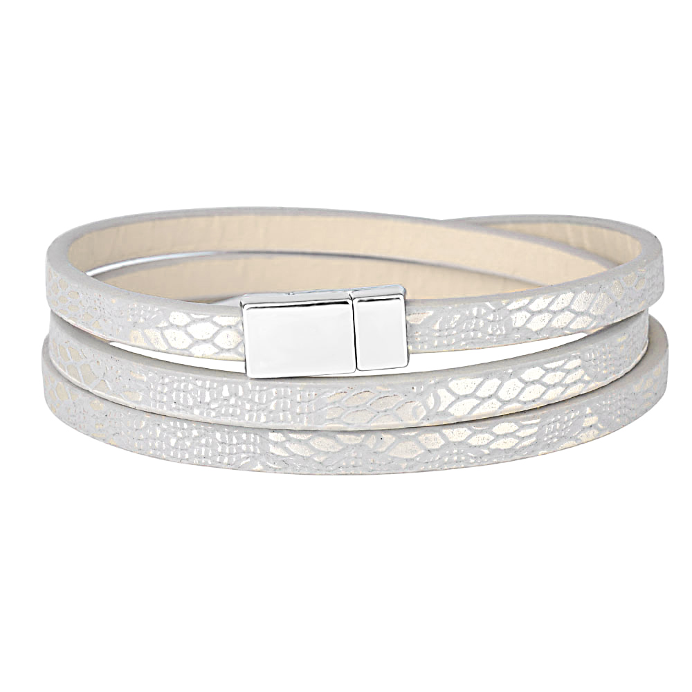 Kirykle Fashion Jewelry Simple style multilayer Wrap leather bracelet High Quality Magnet Bracelets For Women Cuff Gift