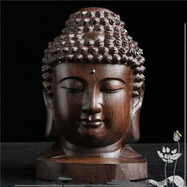 6 cm Wooden Buddha
