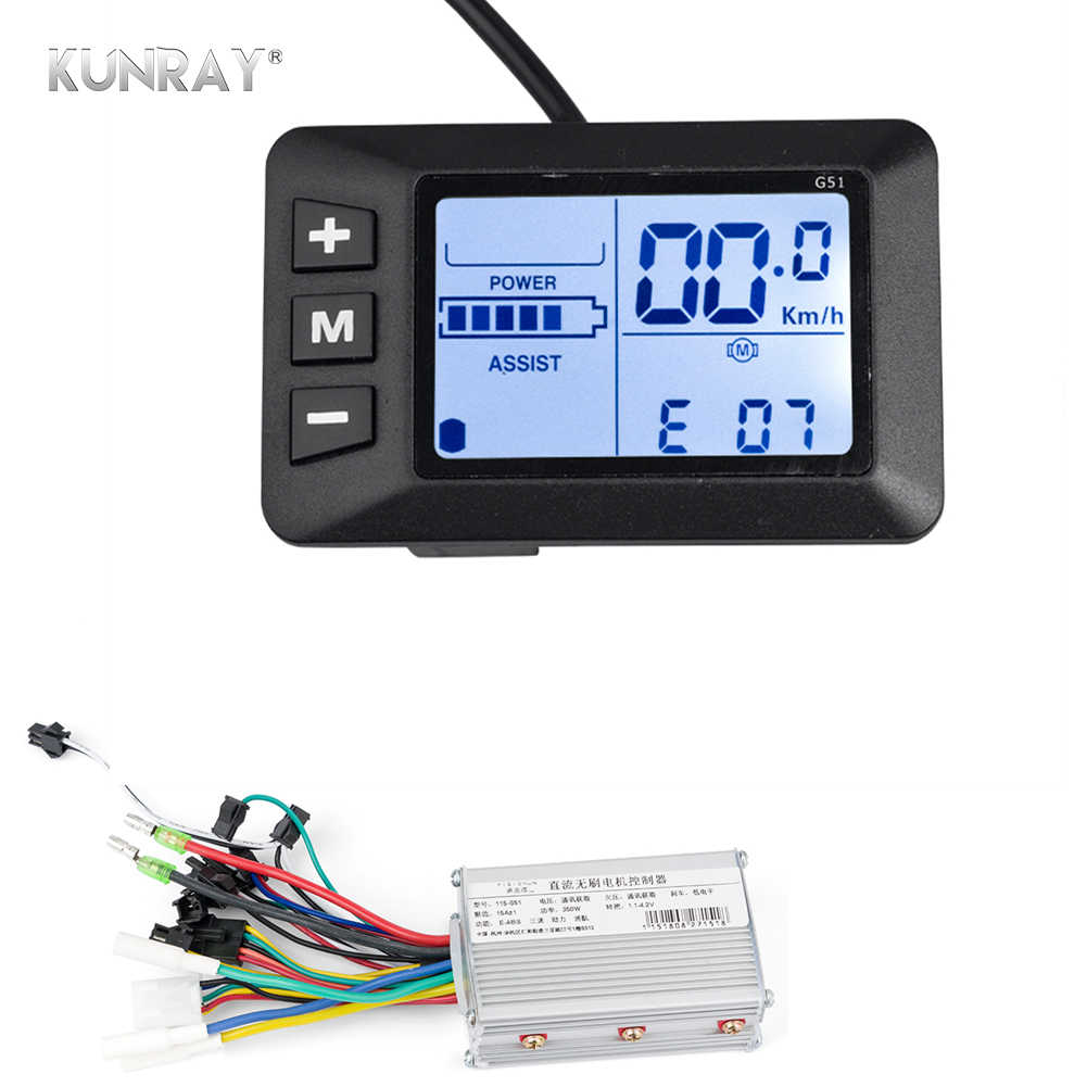 PMMA LCD Ebike Panel Display ODO//TRIP 36//48V  Electric Bike Bicycle Controller