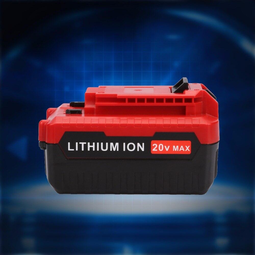 20V Max 5000mAh 5.0Ah Lithium Ion Rechargeable Battery Pack for Porter Cable PCC685L PCC680L PCC681L 4000mAh 3 6v 2400mah rechargeable battery pack for psp 3000 2000