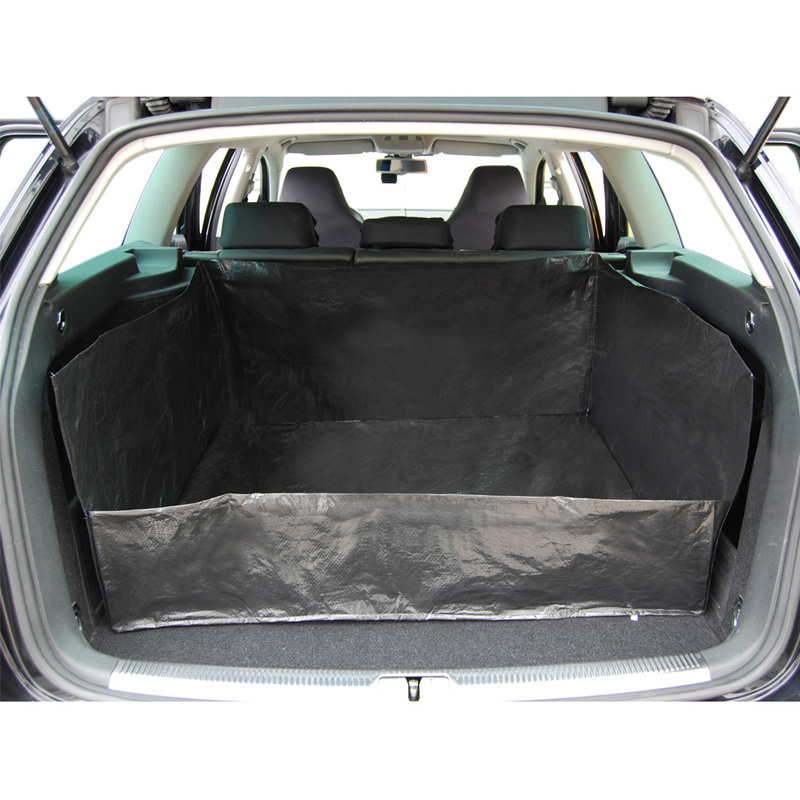 car trunk mat tarpaulin liner waterproof pad pet dog cat back seat organizers cushion protector. Black Bedroom Furniture Sets. Home Design Ideas