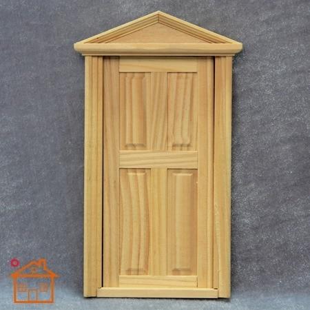 Dollhouse miniatura muebles juguetes accesorios Exterior puerta de ...