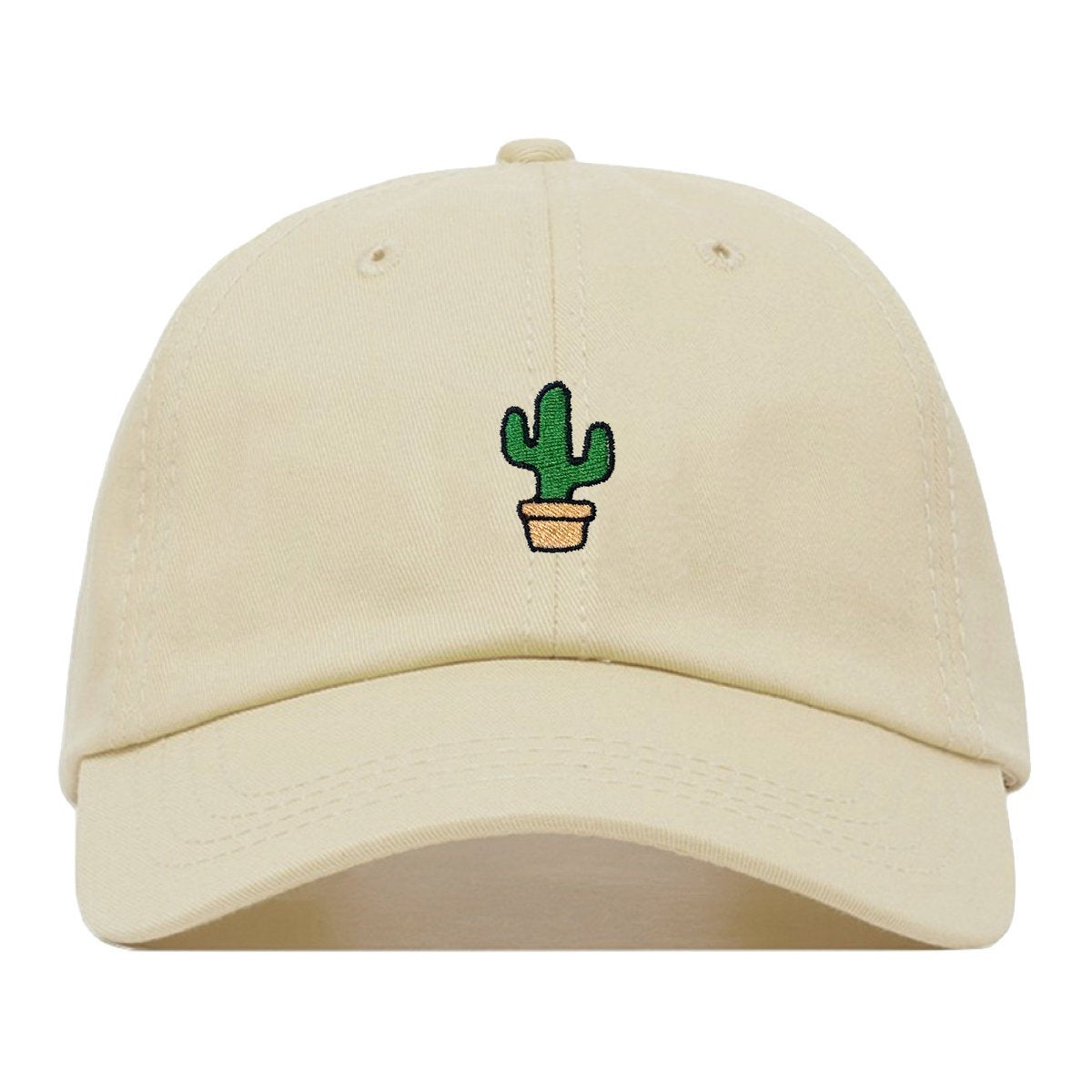 2019 new cactus embroidery   baseball     cap   fashion couple hat summer breathable sports   caps   outdoor dad hats