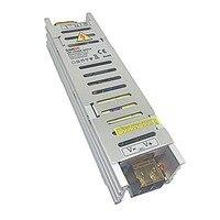 LED de Alimentação de Entrada: 100-240VAC 50/60Hz Saída: + 12 V = = 5A Max Total Interruptor de Alimentação Adaptador Conversor de energia 60 W Max