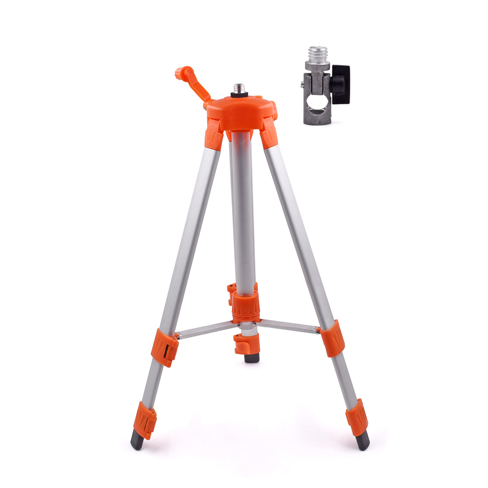 120cm Aluminum Laser Level Tripod Nivel Laser Tripod For Self-leveling Cross Line Laser Levels Optical Instruments free shipping 1 2m aluminum tripod laser level tripod adjustable tripod laser line tripod