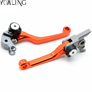Image 3 - Pivot Foldable brakes clutch lever brake lever throttle grip rings cable handlebar grip For 65 SX 65XC 85 SX 2004   2011