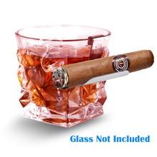 Практичный гаджет, пепельница для виски, сигары, держатель из нержавеющей стали, сигарная стойка, подставка для вина, подставка для сигарет, опт