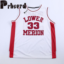 c37fc6cc65a0 Top quality Lower Merion Kobe Bryant Jersey High School  33 Kobe Bryant  Basketball Jerseys Red