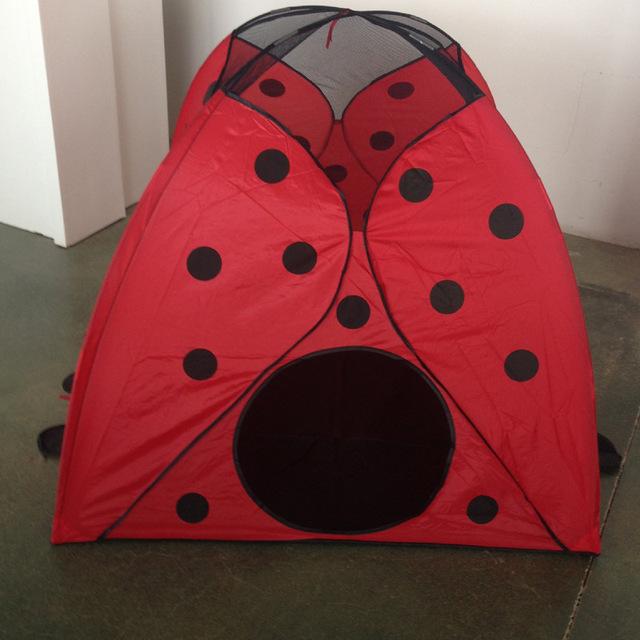 2018  hot sale  children tent baby play mini tent ladybug tent outdoor  tent