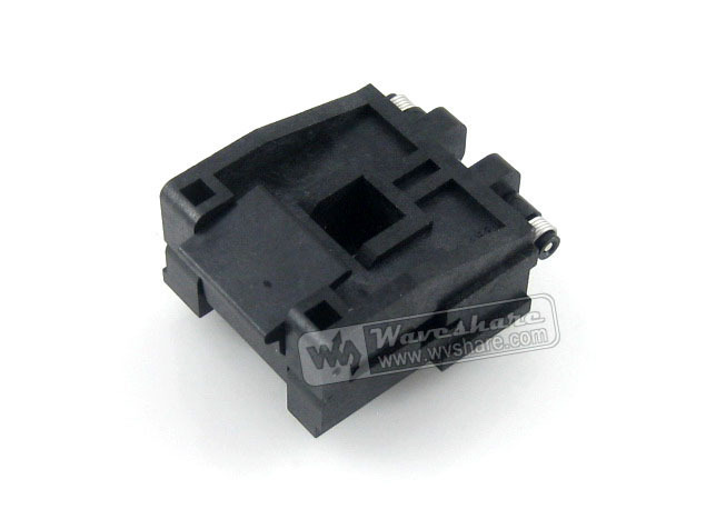 PLCC32 IC51-0324-453 PLCC Yamaichi IC Test Socket Programming Adapter 1.27mm Pitch
