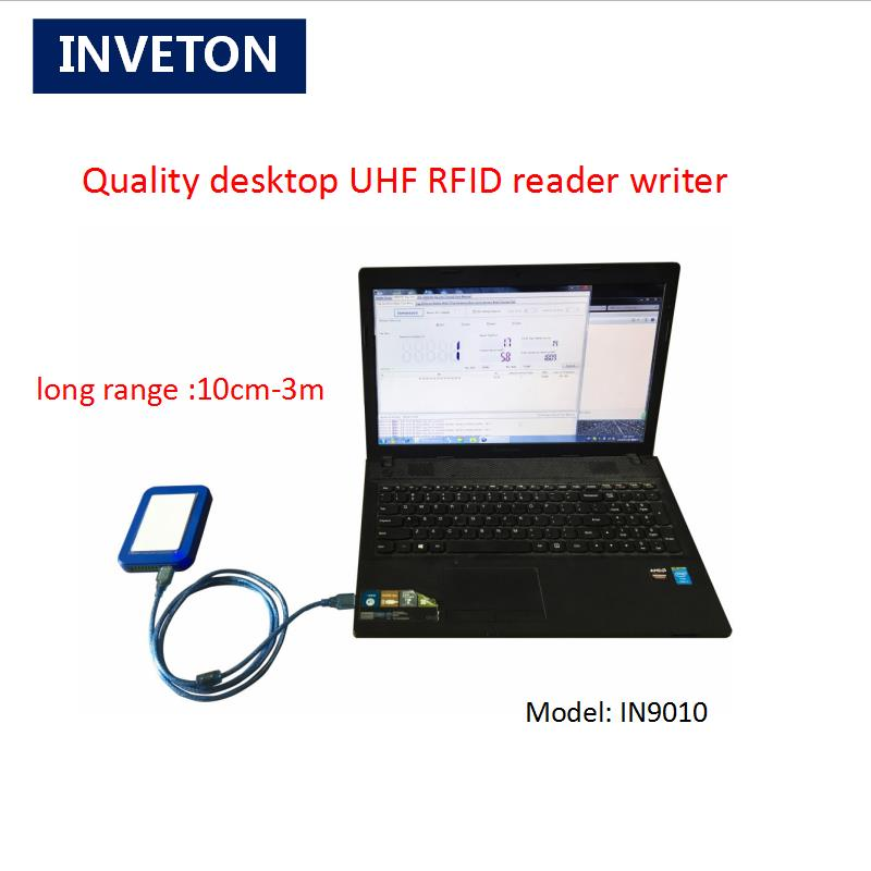 10cm 2meters epc gen2 rfid reader 902Mhz 928Mhz 865MHz 868MHz usb desktop uhf rfid reader and