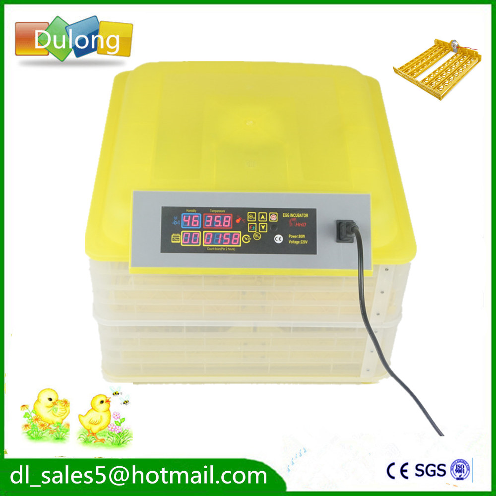 Made in China CE Certificate Poultry Hatchery Machines  96 Automatic Egg   Hatching Incubators for Sale top sale household farm egg incubators 24 egg incubators for led display turner for sale