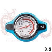 Форсированных термостатический маленькая радиатор голова гонки бар синий крышка