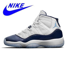 outlet store aa740 7754c Official New Arrival Original Nike Air Jordan 11 Retro Win Like 96 Men s  Basketball Shoes Sport