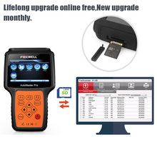 Foxwell NT624 Pro All System OBD2 Diagnostic Tool ABS SRS Airbag Transmission Engine Oil Service Reset OBD 2 Auto Code Scanner
