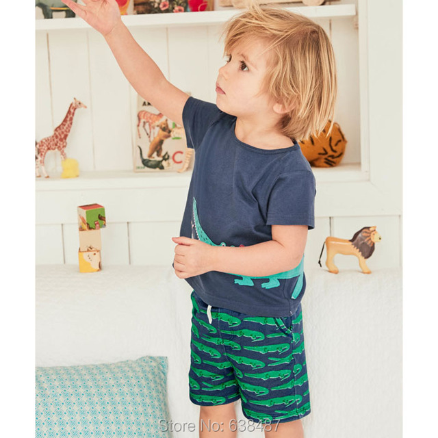 Baby Boys Clothing Sets New 2018 Brand Quality 100% Cotton Baby Boy Clothes Sets Summer Children Clothing Short Sleeve Boys Sets