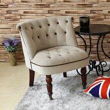 Продвижение подъемных сидений, одноместный диван, кресло, скандинавский мини-спальня, кофейня, двойной индивидуальный балкон, молочный чай, американский маленький