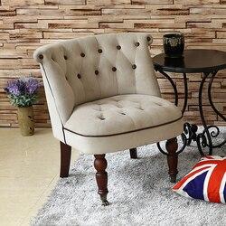 2019 تعزيز رفع مقاعد كرسي أريكة فردي الشمال البسيطة نوم مقهى مزدوجة شخصية شرفة الحليب الشاي أميركي صغير