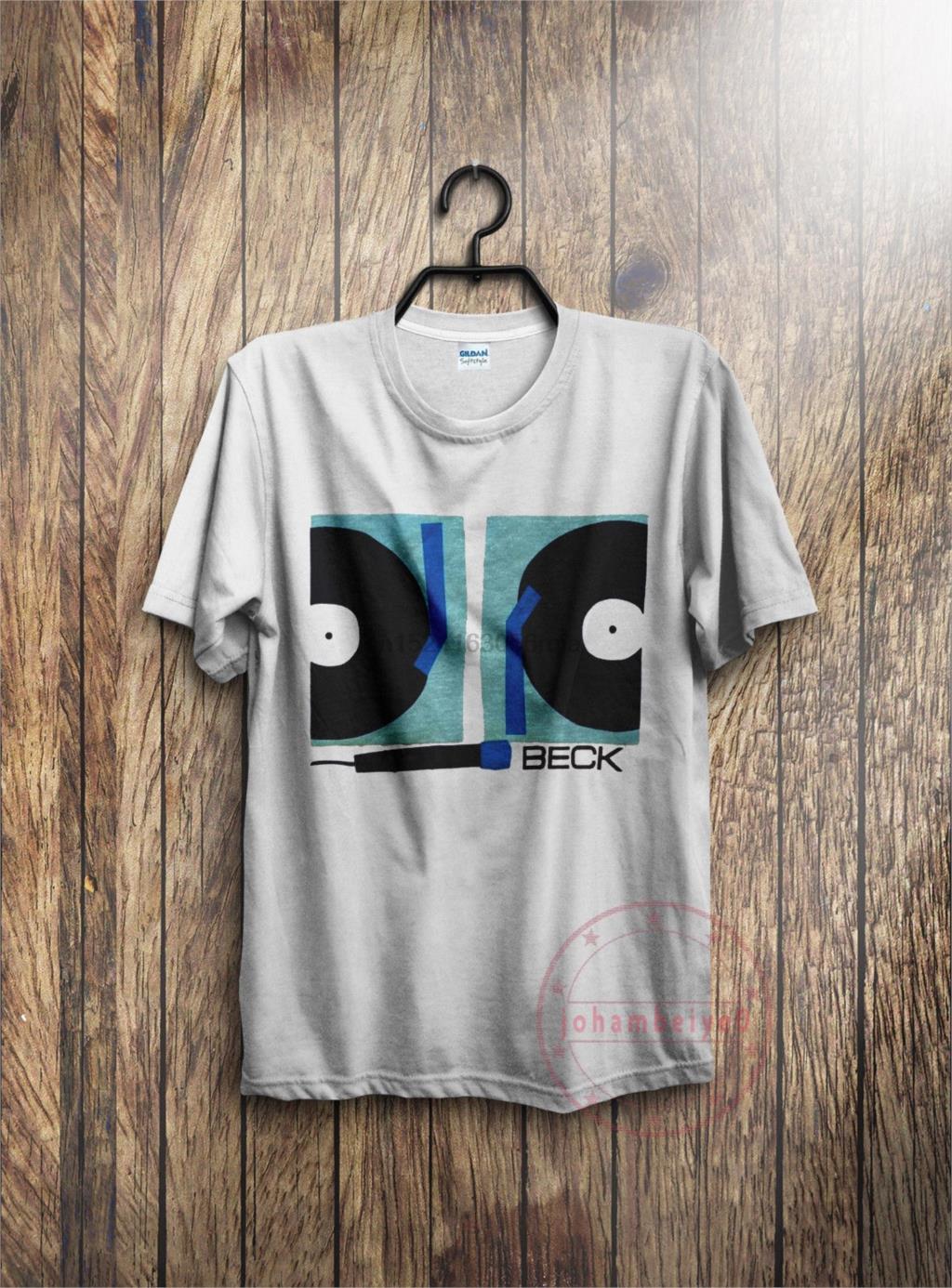 ef60daaf Vintage band BECK 90s grunge rock band reprint t-shirt hip hop alternative  rock