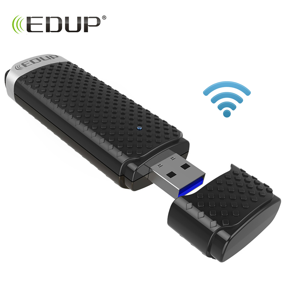 EDUP 1200Mbps Wireless USB WiFi Adapter USB3.0 5Ghz 802.11ac Mini USB Network Card WiFi Receiver Dual Band WiFi Dongle edup ep ac1601 mini 802 11ac wifi dongle wifi usb 3 0 adapter 1200mbps 2 4ghz 5 8ghz dual bands network card white