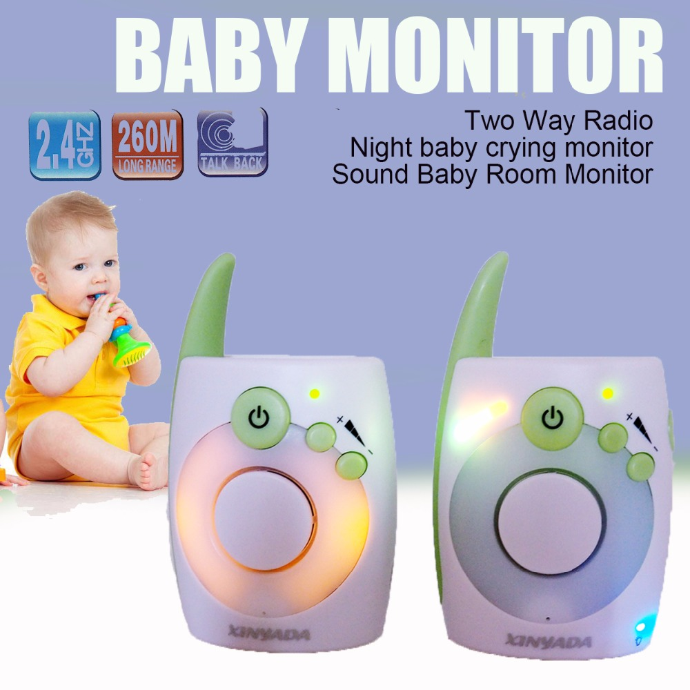 NEW2.4GHz Wireless Video Baby Monitor Baby Security Camera infrared Night Vision